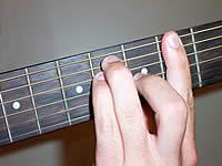 аккорд G# на 4 ладу