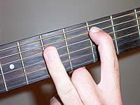 аккорд C6 на 3 ладу