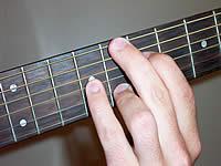 аккорд C6 на 7 ладу