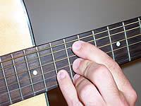 аккорд C6 на 12 ладу