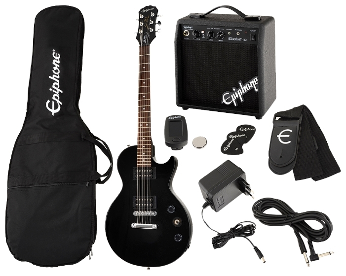 epiphone les paul special ii player pack ebony № 277379