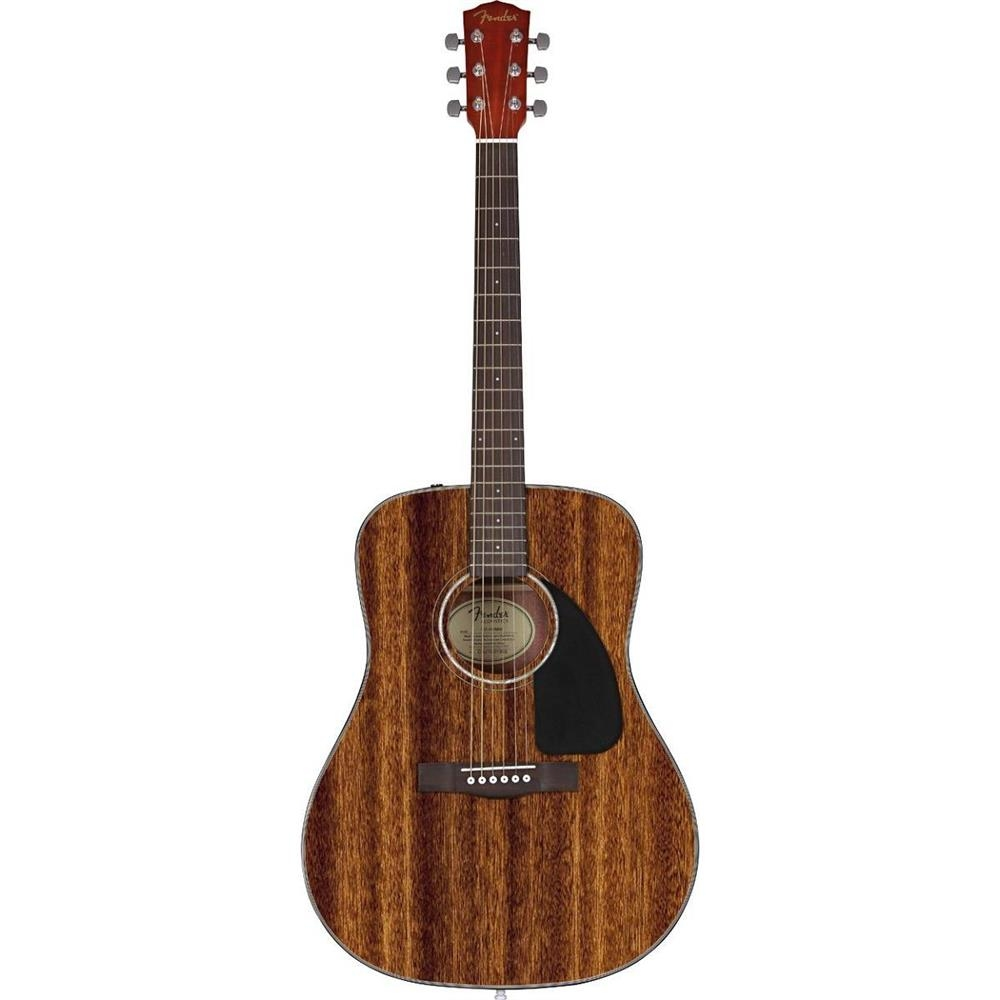 Акустическая гитара Fender CD-60 ALL Mahogany Dreadnought Natural
