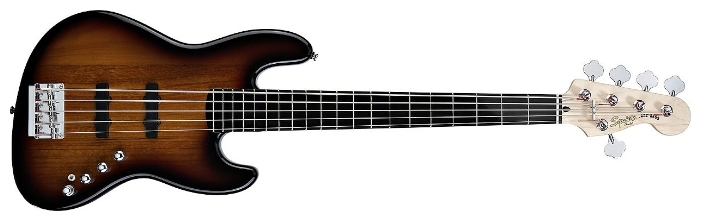 Бас-гитарыSquier Deluxe Jazz Bass V Active