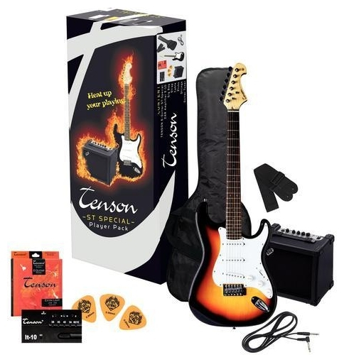 Электрогитара Tenson E-Guitars ST Player Pack