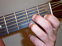 аккорд d7 на гитаре фото